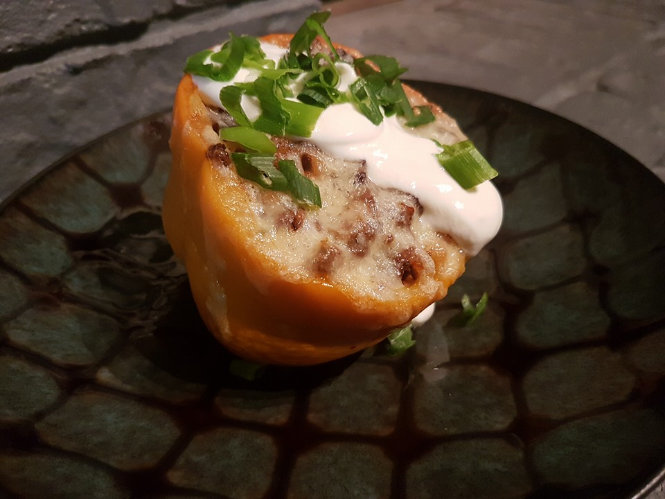 Moose Stuffed Peppers
