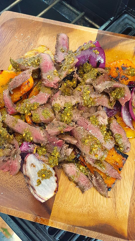Chimichurri Goose Breast