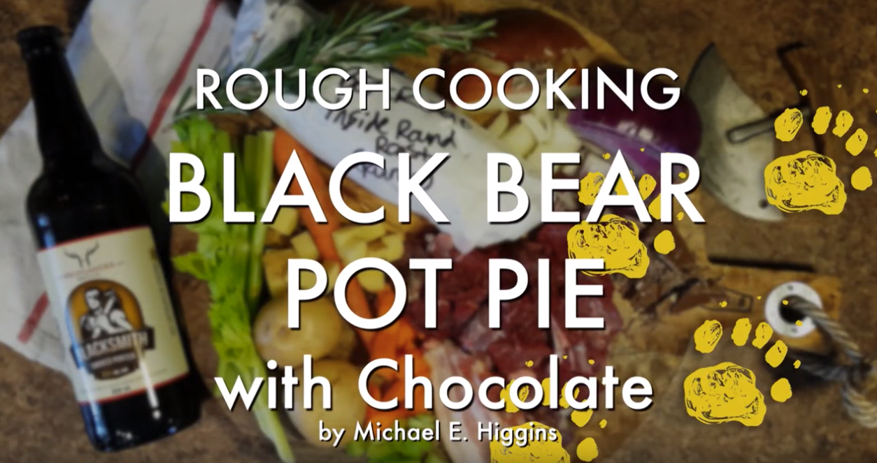 black bear pot pie