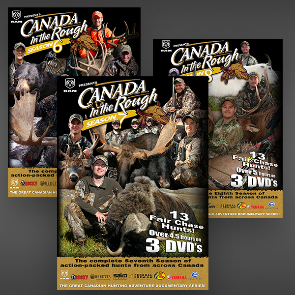 Canada in the Rough DVD