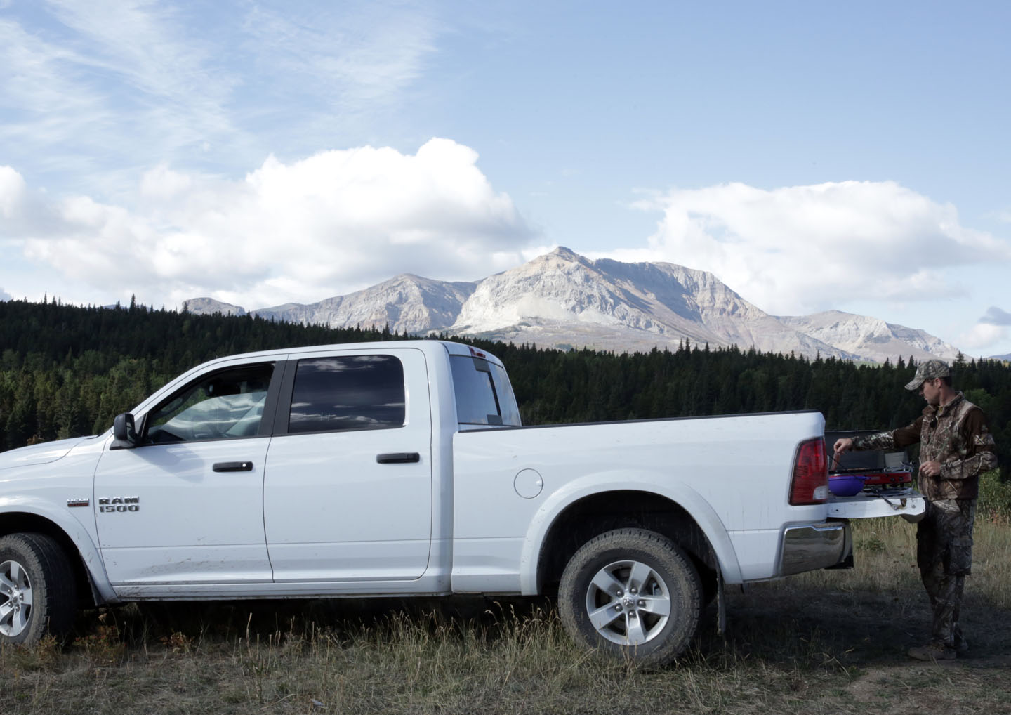 RAM Truck in Mountains